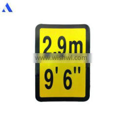 3M Technology Number Letter Zebra Mark LOGO Weight Shipping Container Decal
