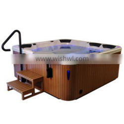 acrylic hydrotherapy 7 seats outdoor whirlpool spa