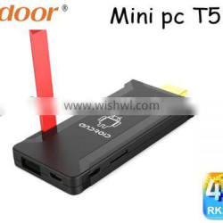 Podoor T518 mini pc Quad Core Android TV Dongle with External Antenna TV stick