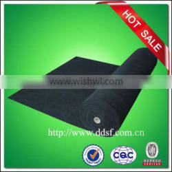 Activated carbon air filter media, cloth