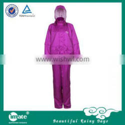 raincoat with a pouch