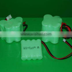 Super power Rechargeable Ni-MH battery packs
