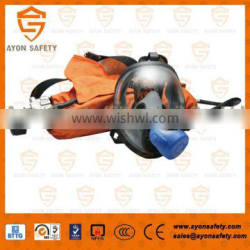 EEBD self rescue breathing device, mobile breathing apparatus with 3L carbon fiber cylinder