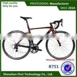China Bike Factory Wholesale Road Bike Samples Available With Carbon Fork