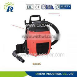 Function wet and dry circulating air cooling back pack industry vacuum cleaner with Ametek Motor