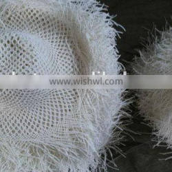 China gold manufacturer economic straw contrast body hats