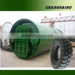 With CE ISO and BV certification Waste tyre recyling machine MADE IN CHINA
