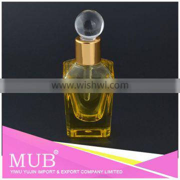 Best-selling products 2016 new style glass perfume bottle with custom print Logo