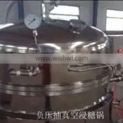 High Quality Automatic Vacuum Jacket Cooker For Candy And Fruit