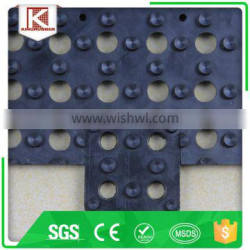 Playground durable in use outdoor ESD natural rubber mat