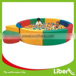 Round Soft Play Equipment Ball Pool for Kids LE.QC.018