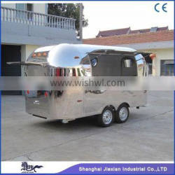 Shanghai JX-BT400 China wide popular stainless commercial mobile grill cart for catering