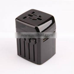 High Quality Christmas gift 2.5A USB universal travel smart adapter plug