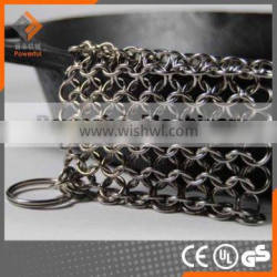 Stainless Steel 304 Chain Link Pan Cleaner