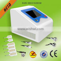 H-1004B Multifunction 6 In 1 Cold Liposuction Laser Vacuum Ultrasound Fat Reduction Machine Rf Portable Ultrasonic Slimming Cavitation Machine Ultrasonic Liposuction Machine