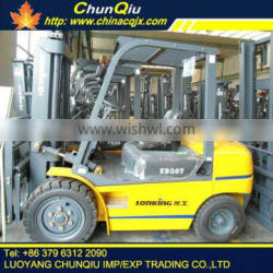 China lonking forklift FD30T small forklift for sale with CE certificate