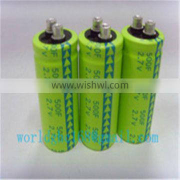 capacitor 500f super capacitor for solar energy