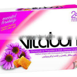 Diet Drops Lozenge Vitabon with Echinacea , Propolis, Honey Vitamin Hard Candy Manufacturer ...