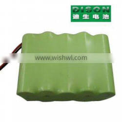 AA 12V 1600mAh Ni-mh rechargeable battery pack