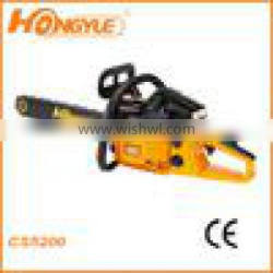 """Two stroke gasoline chainsaw 70.7cc with 20""""/24""""chain and bar"""