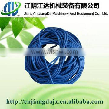 Weighted rubber air hose for aquaculture