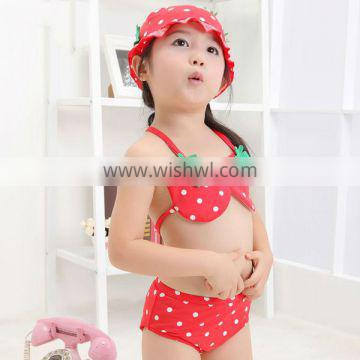 newest sexy lovely Baby strawberry Swimsuit