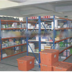 L-shape Post Protector Industrial Shelving Units Industrial Metal Shelving