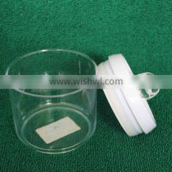 Wholesale clear food jar with airtight lid