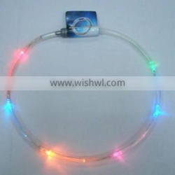 hot sell flashing led Multi-color necklace