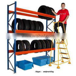 good quality adjustable tyre rack shelving for 4S shop warehouse storage