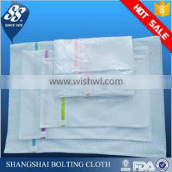 Contemporary top sell custom logo polyester mesh laundry bag