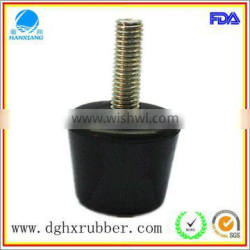 Silicone Rubber Feet with metal for air compressor