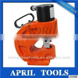 35T output force hydraulic hole puncher with 110mm throat depth for angle-steel and bus bar punching CH-70