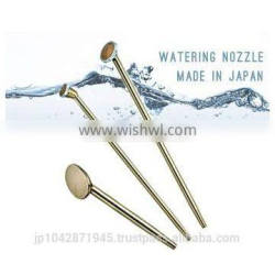 High quality water jet nozzle for garden flower Made in Japan