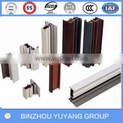 Manufacture aluminum extruion profile to make windows and doors