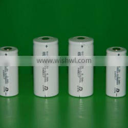 Ni-Cd 4500mAh D Size Low Temperature -40 Degree C Rechargeable Battery Cell