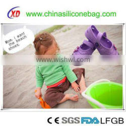 Newly factory sale eva shoes lovely girl beach shoes