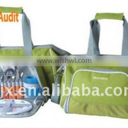 4 Persons 600D Polyester Picnic Bag With handle and Strap