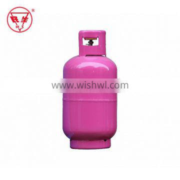 Factory Directly Sell CE standard 13.4L helium gas cylinder bottle disposable tank with prices