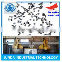 High tenacity Specific Weight 4.1 steel grits for shot blasting