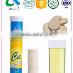 Dietary Supplement For Joint Health Liquid Calcium+VD3 Effervescent Tablet