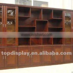 wooden book display stands or shelf