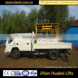 Safe environmental protection/easy to maintenance vehicle-mounted elevating platform