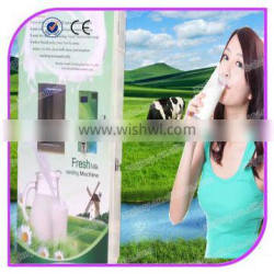 Professional high quality stainless steel automatic fresh milk vending machines