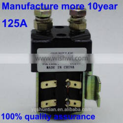 electric forklifts dc motor dc contactor single pole double throw