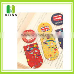 Promotional Gift Soft Silicon Rubber magnetic cartoon custom design christmas craft paper clip bookmark