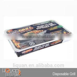 48*31*6 cm ONE TIME BBQ Charcoal Grill, Char Grill
