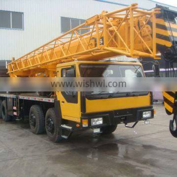 30T big power hydraulic mobile truck crane 4 booms for sale