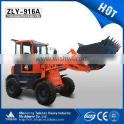 Qingzhou Twisan Brand ZLY916 with cab heater, snow shovel and Eurp III