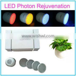 2014 New Design 4 Colors LED Light Facial Massager With Photon Therapy&Vibration